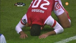 SC Braga, Jogada, Hassan aos 33'