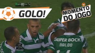 GOLO! Sporting CP, Slimani aos 12', Sporting CP 1-0 Vitória SC