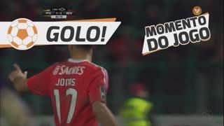 GOLO! SL Benfica, Jonas aos 45'+2', FC P.Ferreira 1-2 SL Benfica