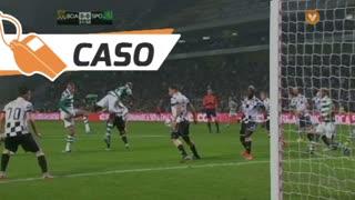Sporting CP, Caso, Slimani aos 32'