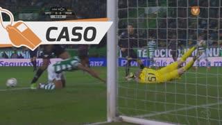 Sporting CP, Caso, Gelson Martins aos 3'