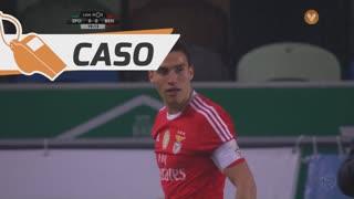 SL Benfica, Caso, Gaitán aos 19'