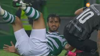 Sporting CP, Jogada, B. Ruiz aos 9'
