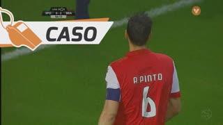 SC Braga, Caso, André Pinto aos 56'