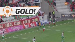 GOLO! Marítimo M., Raul aos 34', Marítimo M. 2-0 Rio Ave FC