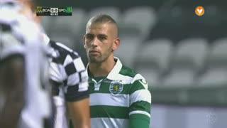Sporting CP, Jogada, Slimani aos 44'