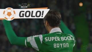 GOLO! Sporting CP, B. Ruiz aos 60', Sporting CP 5-0 FC Arouca