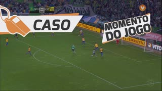 Sporting CP, Caso, T. Gutiérrez aos 53'