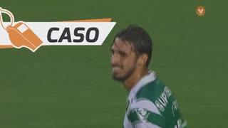 Sporting CP, Caso, B. Ruiz aos 19'