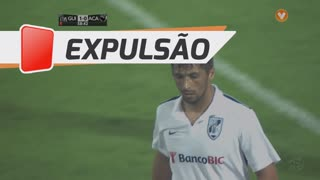 Vitória SC, Expulsão, Moreno aos 59'