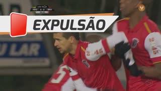 SC Braga, Expulsão, Rui Fonte aos 57'