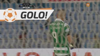 GOLO! Sporting CP, Slimani aos 32', Os Belenenses 0-2 Sporting CP