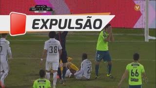 Vitória FC, Expulsão, Tiago Valente aos 70'