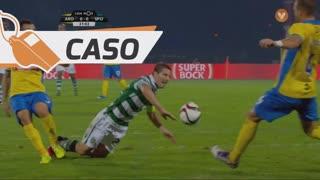 Sporting CP, Caso, Adrien Silva aos 31'
