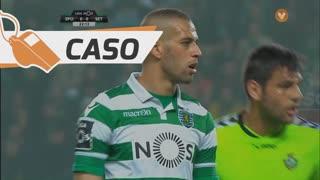 Sporting CP, Caso, Slimani aos 20'