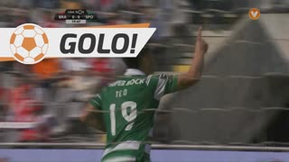 GOLO! Sporting CP, T. Gutiérrez aos 20', SC Braga 0-1 Sporting CP