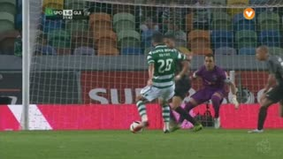 Sporting CP, Jogada, B. Ruiz aos 22'