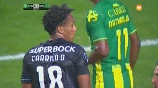 Sporting CP, Jogada, Carrillo aos 22'