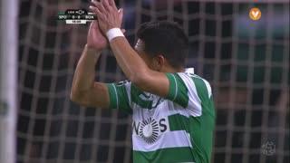 Sporting CP, Jogada, T. Gutiérrez aos 18'