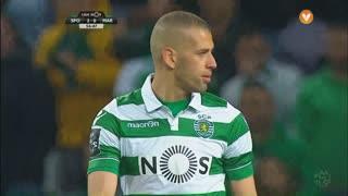 Sporting CP, Jogada, Slimani aos 57'