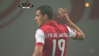 SC Braga, Jogada, N. Stojiljković aos 27'