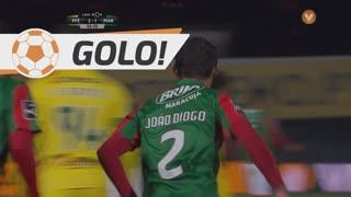 GOLO! Marítimo M., João Diogo aos 57', FC P.Ferreira 2-1 Marítimo M.