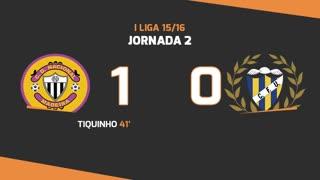I Liga (2ªJ): Resumo CD Nacional 1-0 U. Madeira