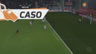 Sporting CP, Caso, B. Ruiz aos 17'