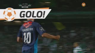 GOLO! Marítimo M., G. Ghazaryan aos 81', Sporting CP 3-1 Marítimo M.