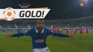 GOLO! Belenenses, Tiago Caeiro aos 66', Belenenses 3-0 SC Braga