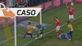 SL Benfica, Caso, Pizzi aos 65'