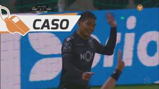 Sporting CP, Caso, T. Gutiérrez aos 45'