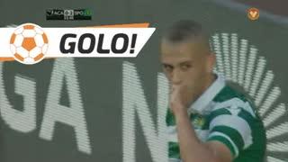 GOLO! Sporting CP, Slimani aos 24', A. Académica 0-2 Sporting CP