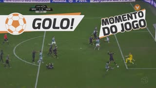 GOLO! Sporting CP, Gelson Martins aos 29', Sporting CP 1-0 Moreirense FC