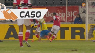 FC Arouca, Caso, Adilson Goiano aos 53'