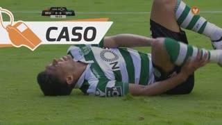 Sporting CP, Caso, T. Gutiérrez aos 18'