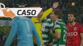 Sporting CP, Caso, S. Coates aos 59'