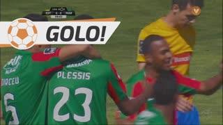GOLO! Marítimo M., D. Plessis aos 5', Estoril Praia 0-1 Marítimo M.