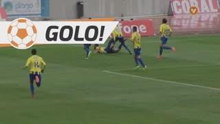 GOLO! U. Madeira, Élio Martins aos 18', U. Madeira 1-0 FC P.Ferreira