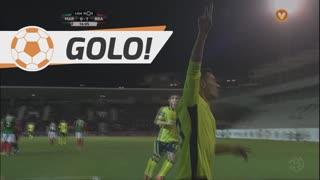 GOLO! SC Braga, Pedro Santos aos 16', Marítimo M. 0-1 SC Braga