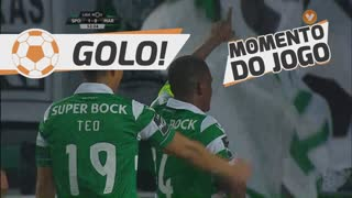 GOLO! Sporting CP, William aos 53', Sporting CP 2-0 Marítimo M.