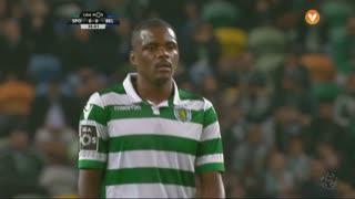 Sporting CP, Jogada, William aos 35'
