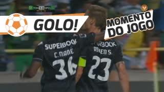 GOLO! Sporting CP, Adrien Silva aos 90'+8', CD Tondela 1-2 Sporting CP