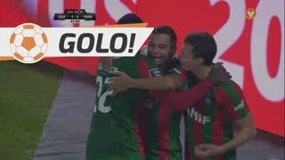 GOLO! Marítimo M., Edgar Costa aos 48', Vitória SC 1-3 Marítimo M.
