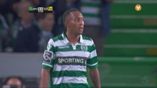 Sporting CP, Jogada, Gelson Martins aos 31'