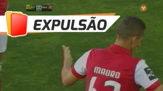 SC Braga, Expulsão, Mauro aos 51'