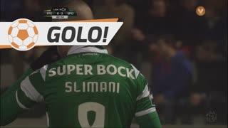 GOLO! Sporting CP, Slimani aos 63', FC P.Ferreira 0-2 Sporting CP