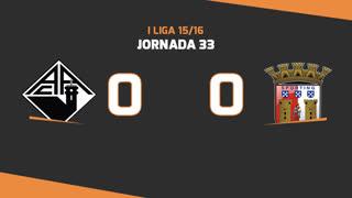 I Liga (33ªJ): Resumo A. Académica 0-0 SC Braga