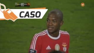 SL Benfica, Caso, Victor Andrade aos 80'