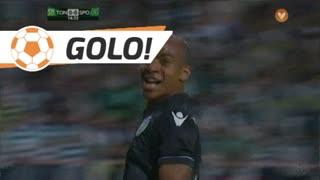 GOLO! Sporting CP, João Mário aos 15', CD Tondela 0-1 Sporting CP